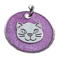 ID circular purpura con cabeza de gato 25 mm
